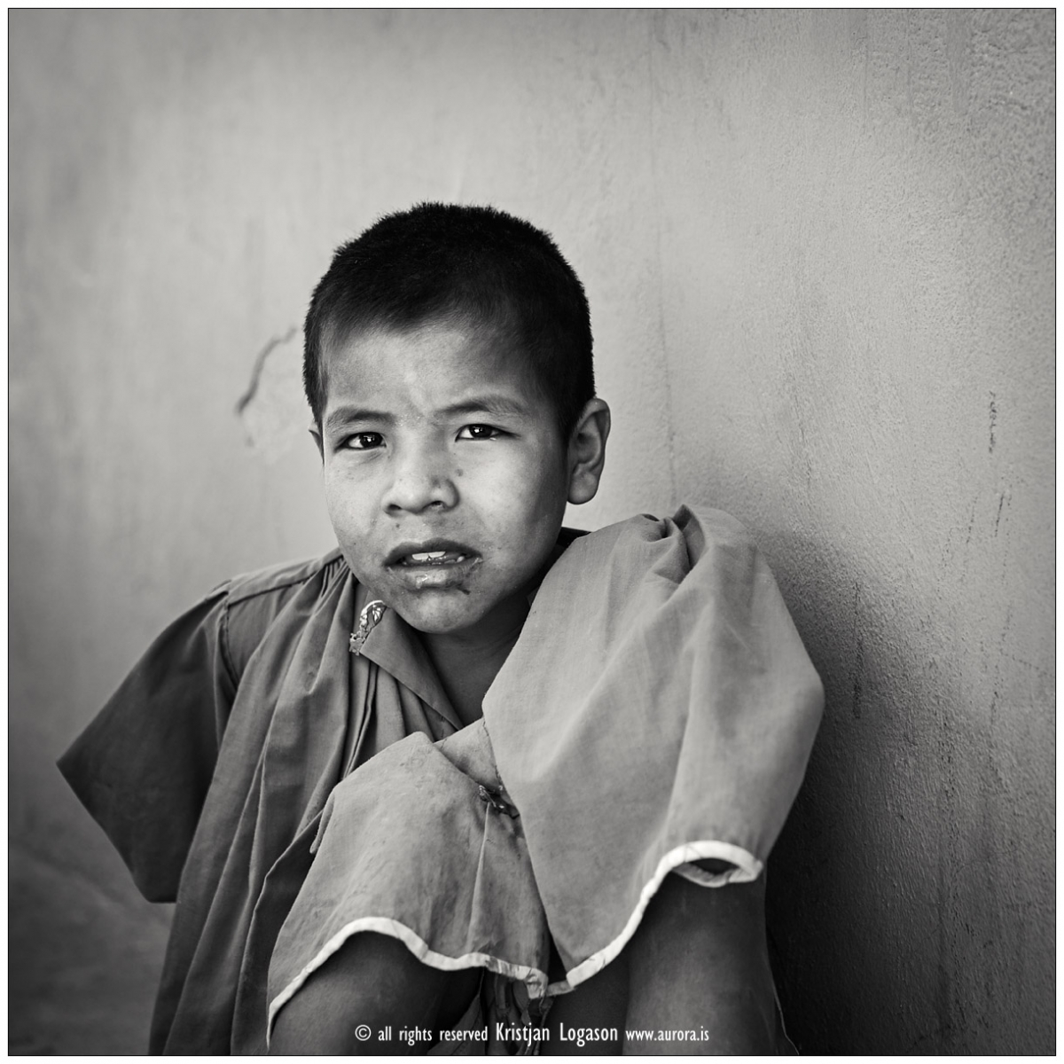 Young Tarahumara school boy in Munearachi