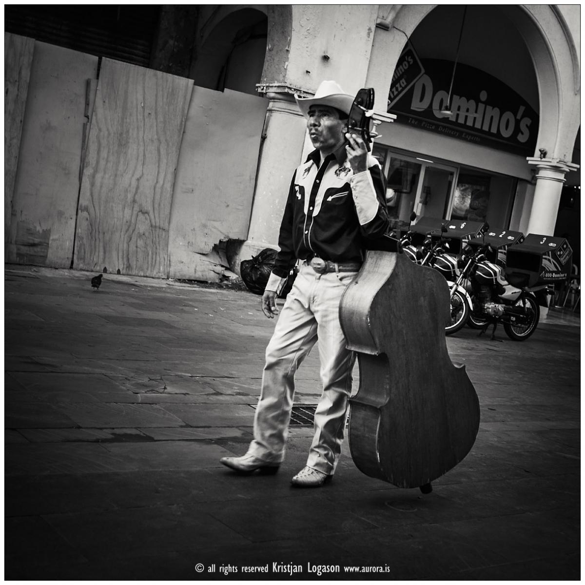 Walking mariachi bass