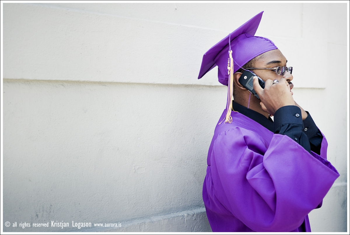 Graduating student in New Orleans