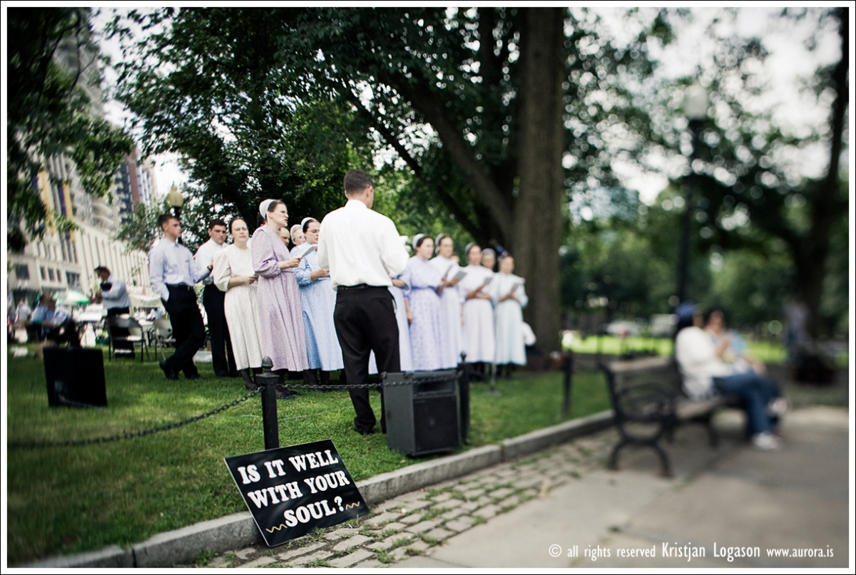 Singing in Boston